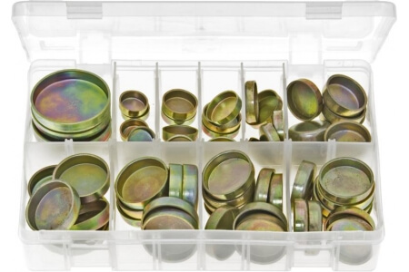 Assorted Box of Core Plugs Cup Type - Metric