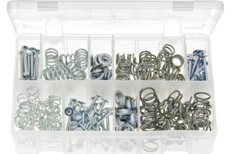Assorted Box of Brake Shoe Hold-Down Kit