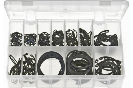 Assorted Box of Circlips Internal - Metric