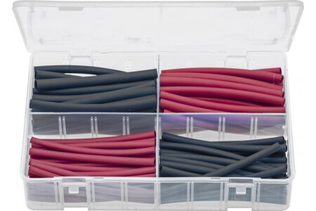 Assorted Box of Heat Shrink Tubing - 100 mm Lengths