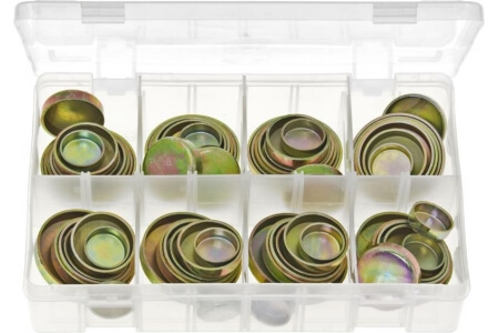 Assorted Box of Core Plugs Cup Type - Imperial