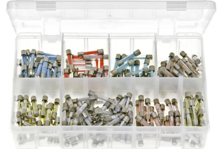 Assorted Box of Glass Fuses
