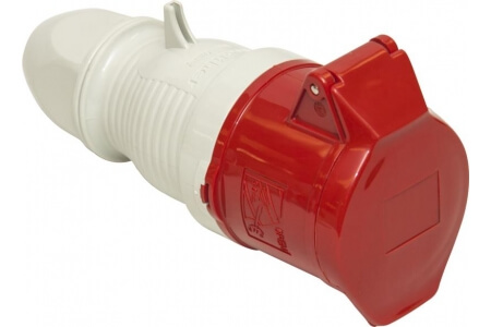 400V Couplers - Red