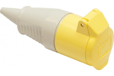 110V Couplers - Yellow