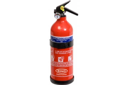 RING Fire Extinguishers