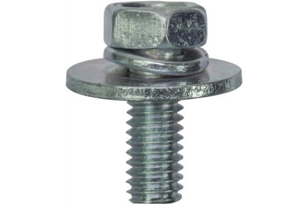 Hex Bolt Screws with Captive Washer