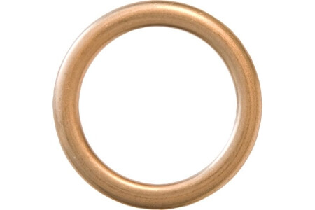 Sump Plug Washers - Oval Section Copper Washers