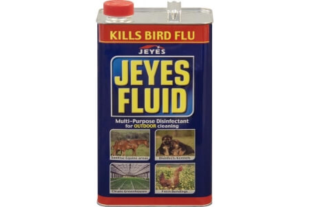 JEYES FLUID Multi-Purpose Disinfectant for Outdoor Use