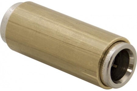 NORGREN 'Fleetfit' Brass Push-In Fittings with Tube Supports