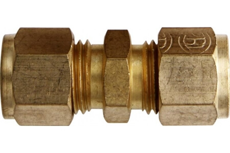Brass Tube Couplings - Imperial