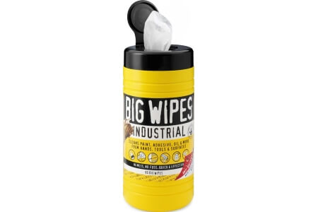 BIG WIPES 'Industrial' Standard White Wipes
